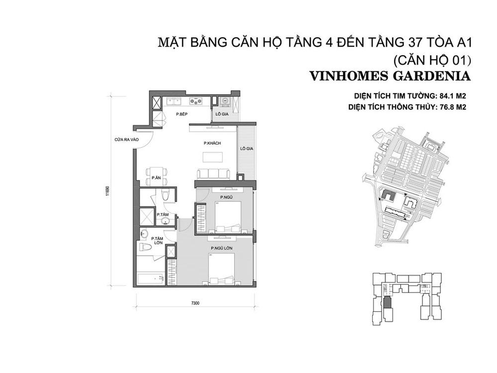mat-bang-can-ho-01-toa-a1-vinhomes-gardenia