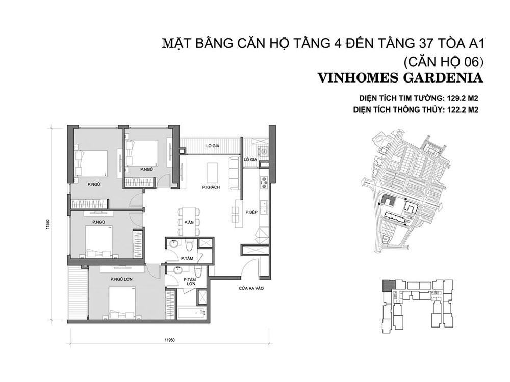 mat-bang-can-ho-06-toa-a1-vinhomes-gardenia