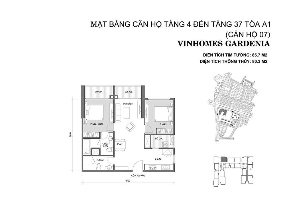 mat-bang-can-ho-07-toa-a1-vinhomes-gardenia
