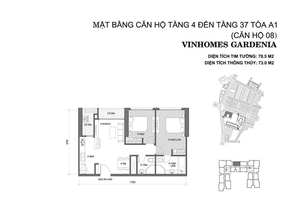 mat-bang-can-ho-08-toa-a1-vinhomes-gardenia