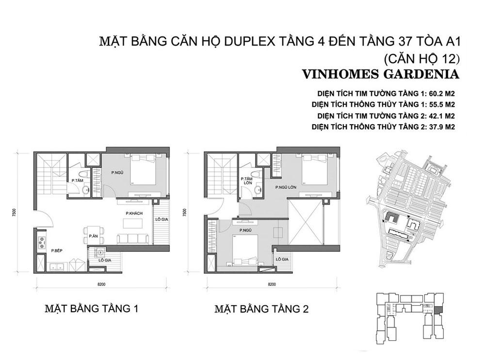mat-bang-can-ho-12-tang-4-37-toa-a1-vinhomes-gardenia