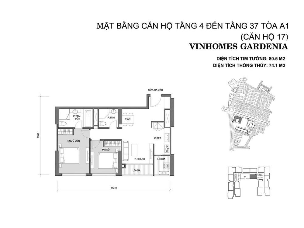 mat-bang-can-ho-17-toa-a1-vinhomes-gardenia