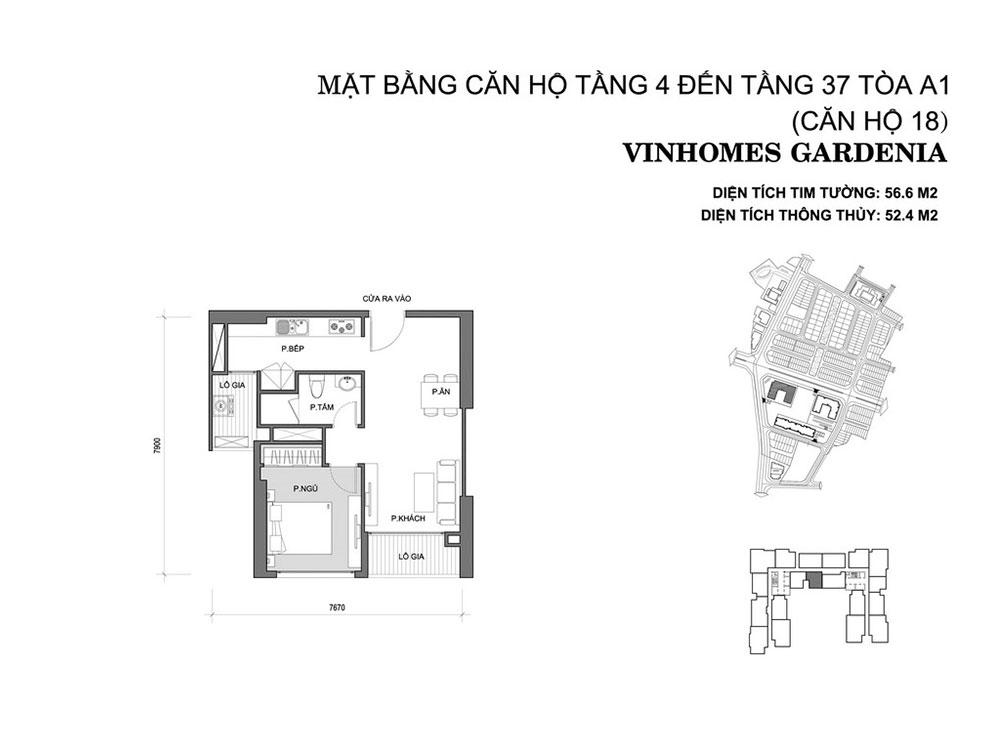 mat-bang-can-ho-18-toa-a1-vinhomes-gardenia