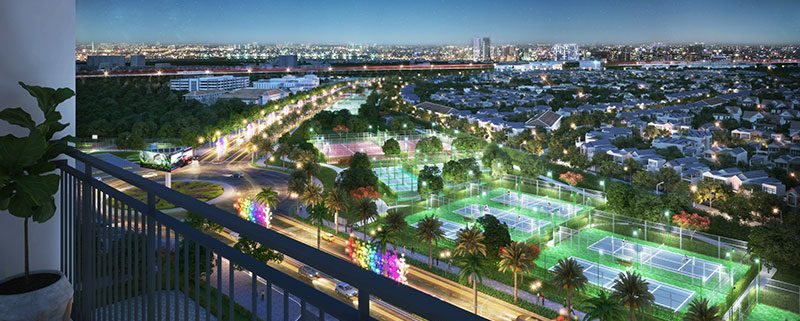 view-san-the-thao-tu-can-ho-vinhomes-smart-city